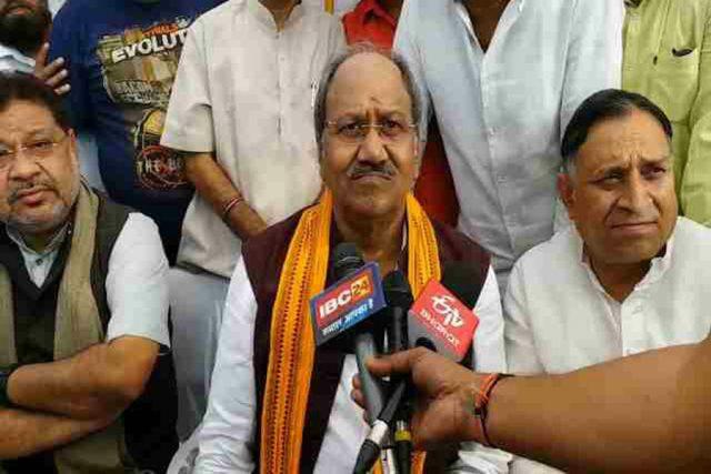BJP criticizes Sidhu's press conference ...
