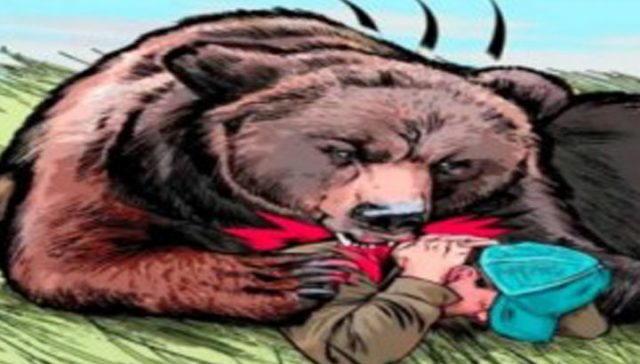 भालू के हमला ले दो झन के मौत, वन विभाग ह दिस मृतक के परिजन मन ल सहायता राशी
